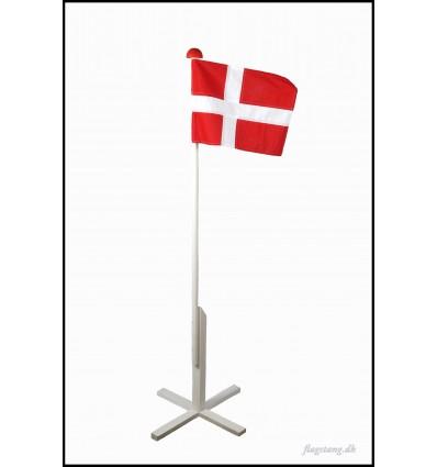 Miniflagstang af træ 1,5 meter