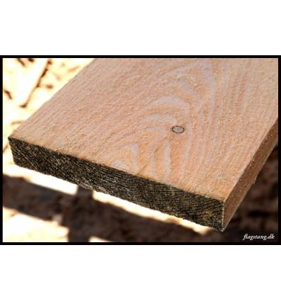 Brædder i lærketræ 25 x 200 mm