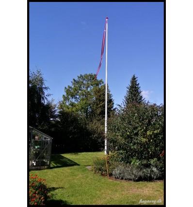 16 meter glasfiber flagstang til støtte